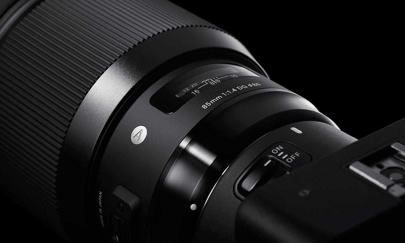 Obiektyw Sigma A 85mm