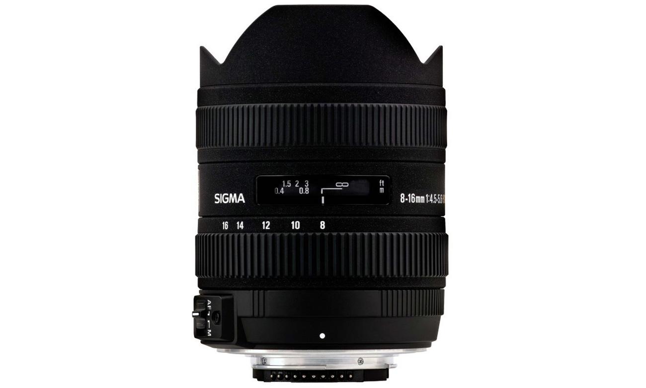 Sigma 8-16mm f4.5-5.6 DC HSM Rybie Oko Pentax