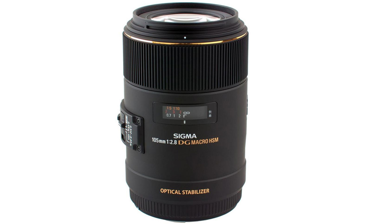 Obiektywy stałoogniskowy Sigma 105mm