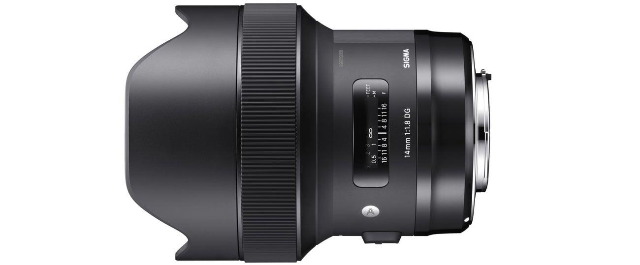 Sigma A 14mm f/1.8 DG HSM Nikon