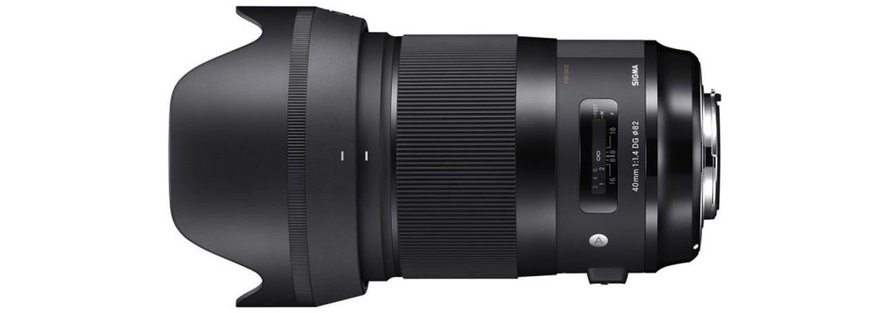 Obiektywy Sigma A 40mm f/1.4 DG HSM Nikon