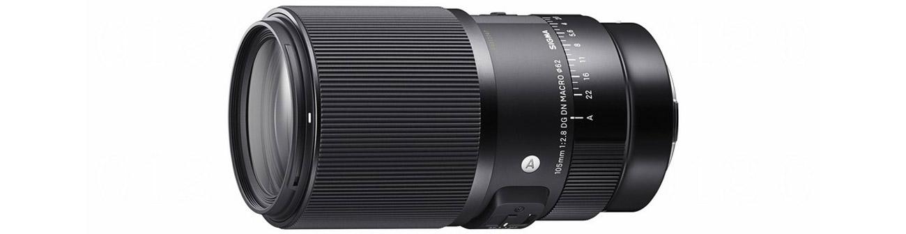 Obiektywy Sigma A 105mm f2.8 DG DN MACRO Sony-E