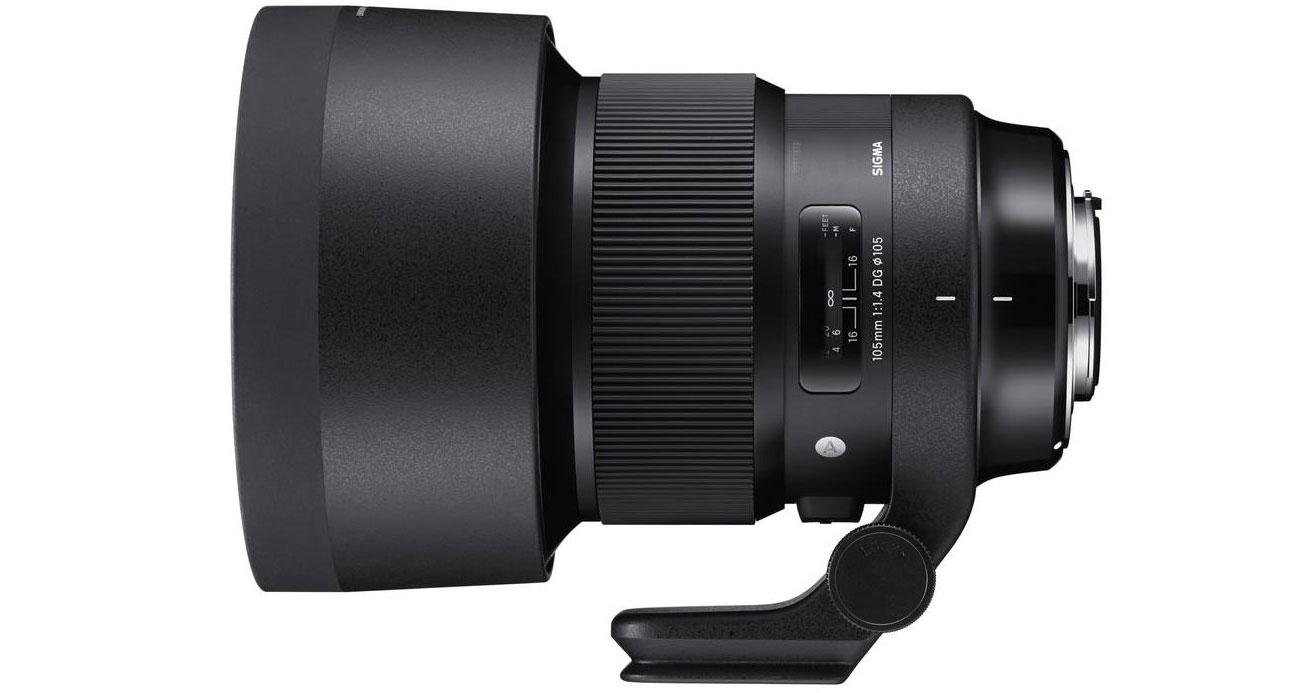 Obiektyw Sigma A 105mm