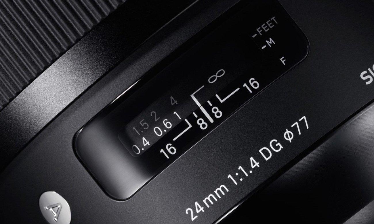 Sigma A 24mm f/1.4 DG HSM Sony E