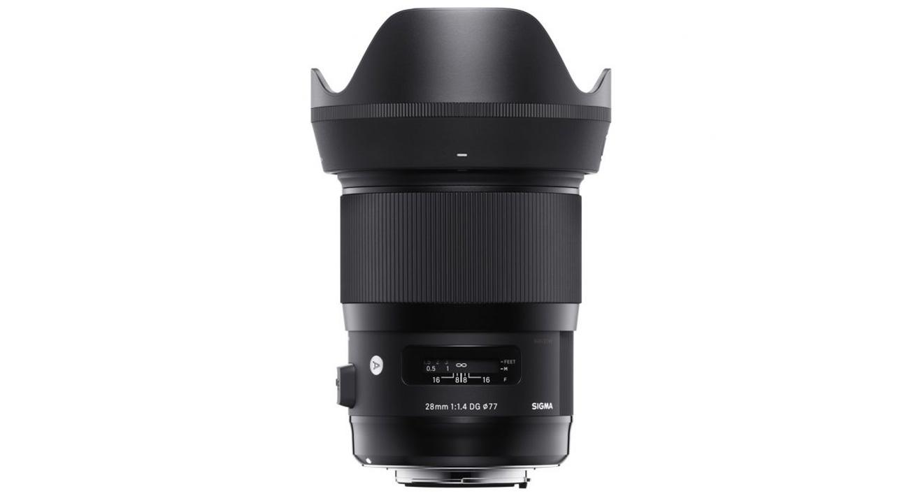 Obiektywy Sigma A 28mm f/1.4 A DG HSM Sony E