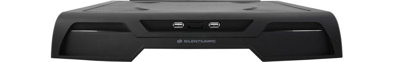 SilentiumPC Glacier NC400 Porty USB