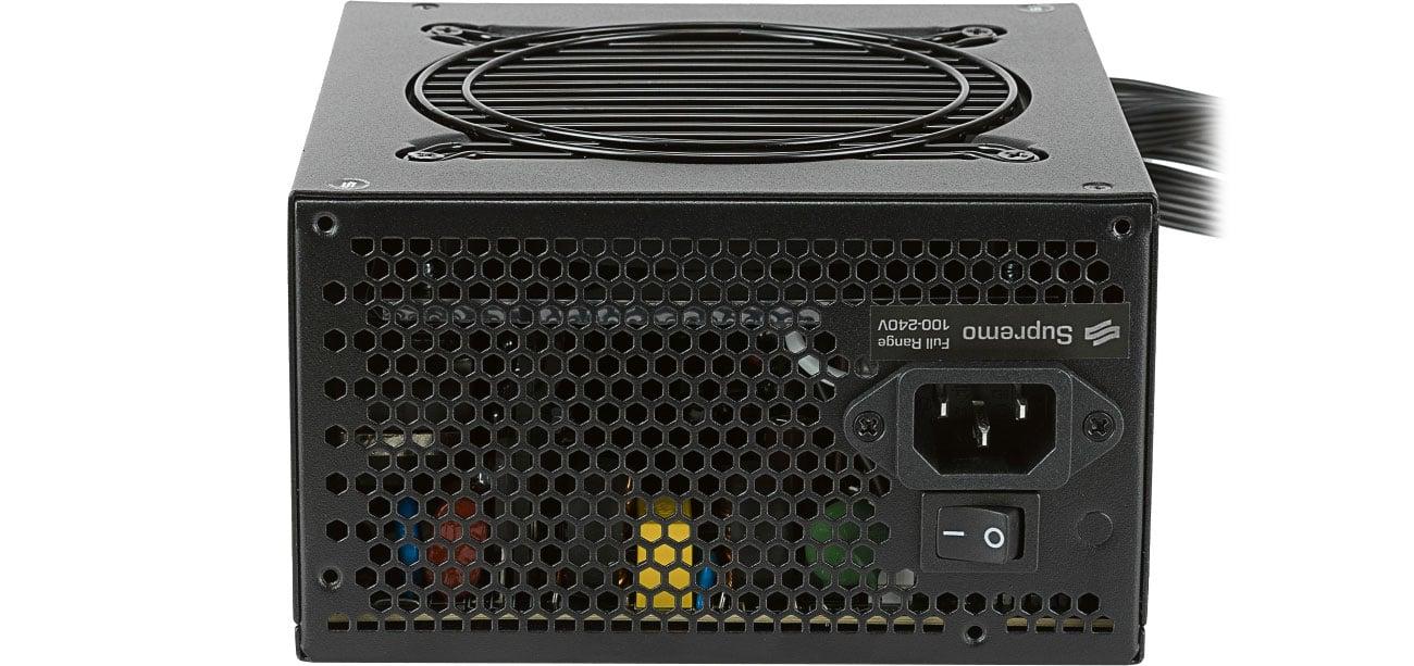 SilentiumPC 550W Supremo M2 Gold linia 12V