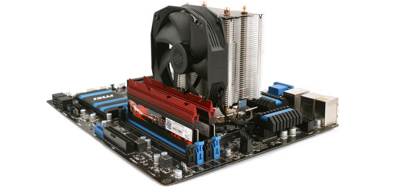 Chłodzenie procesora SilentiumPC Spartan 3 LT HE1012 SPC145 montaż
