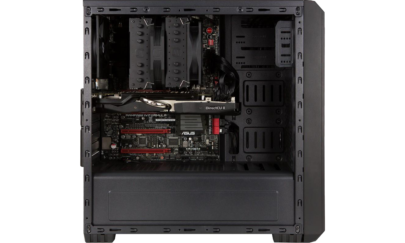 SilentiumPC Regnum RG2 Pure Black wnętrze