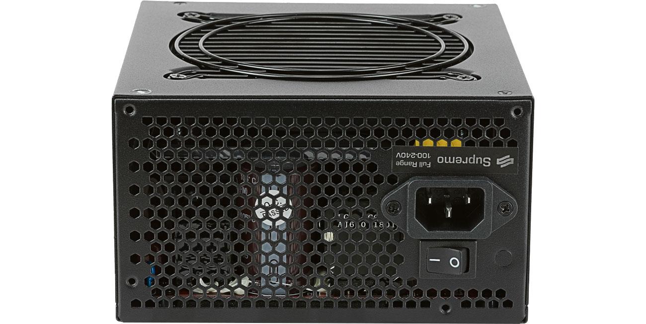 SilentiumPC 650W Supremo FM2 Gold podzespoły