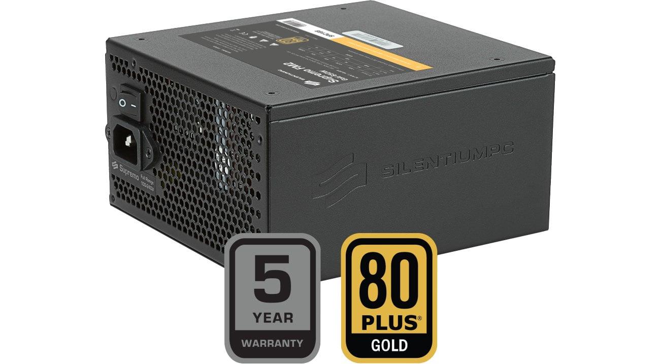 SilentiumPC 750W Supremo FM2 Gold certyfikat 80 Plus Gold