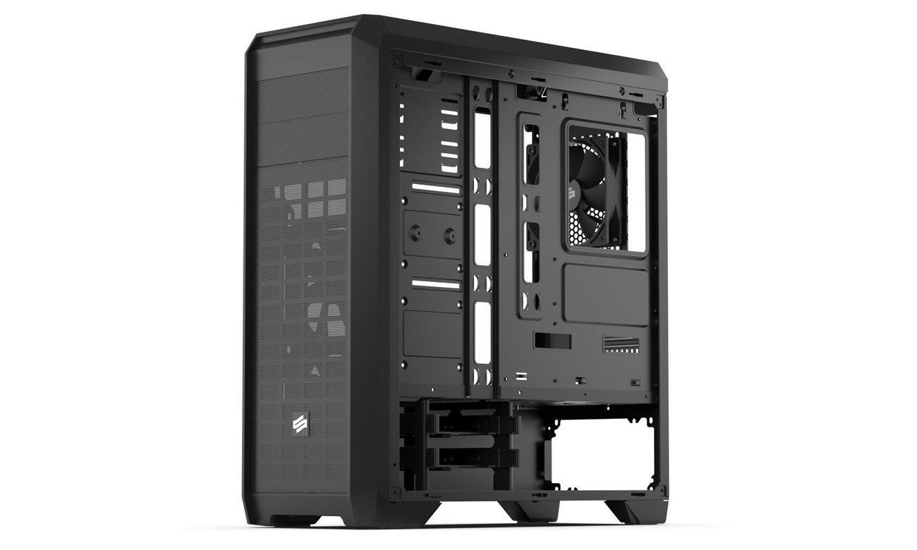 SilentiumPC Regnum RG4 Pure Black Wnętrze