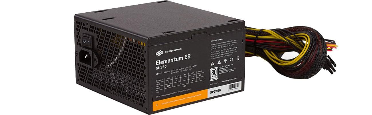 Zasilacz SilentiumPC 350W Elementum E2 SI 80+