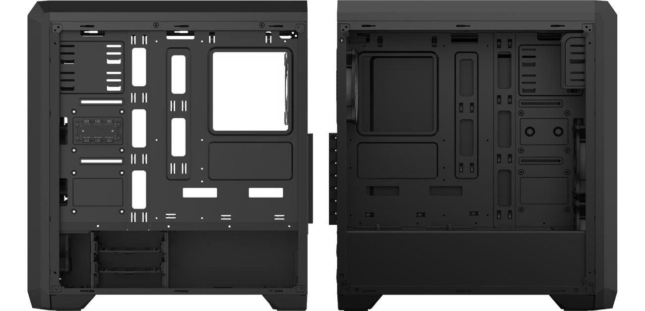 SilentiumPC Regnum RG4T RGB Pure Black SPC205 Wnętrze