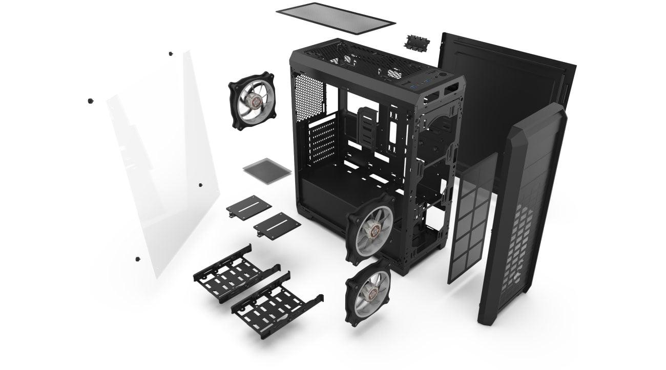 SilentiumPC Regnum RG4T RGB Pure Black SPC205