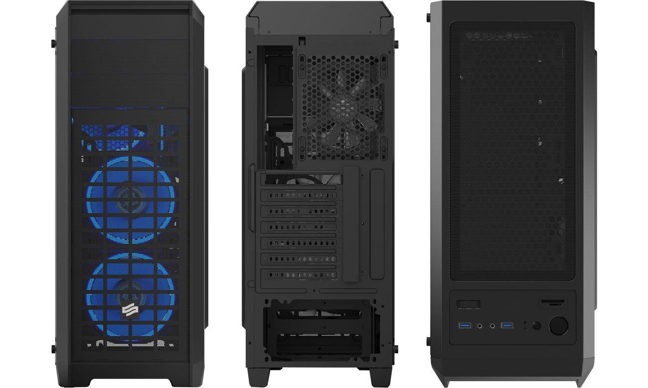 SilentiumPC Regnum RG4T RGB Pure Black SPC205 Panele