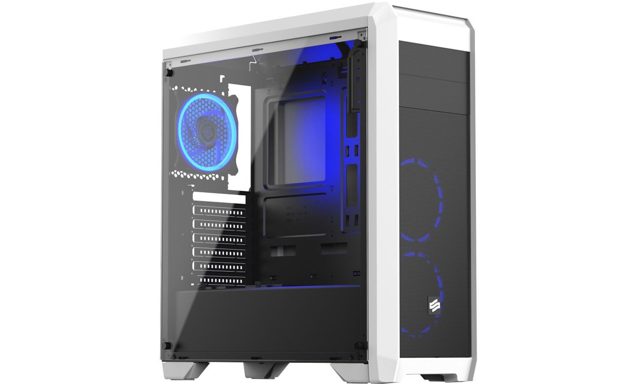 Obudowa do komputera SilentiumPC Regnum RG4T RGB Frosty White SPC206