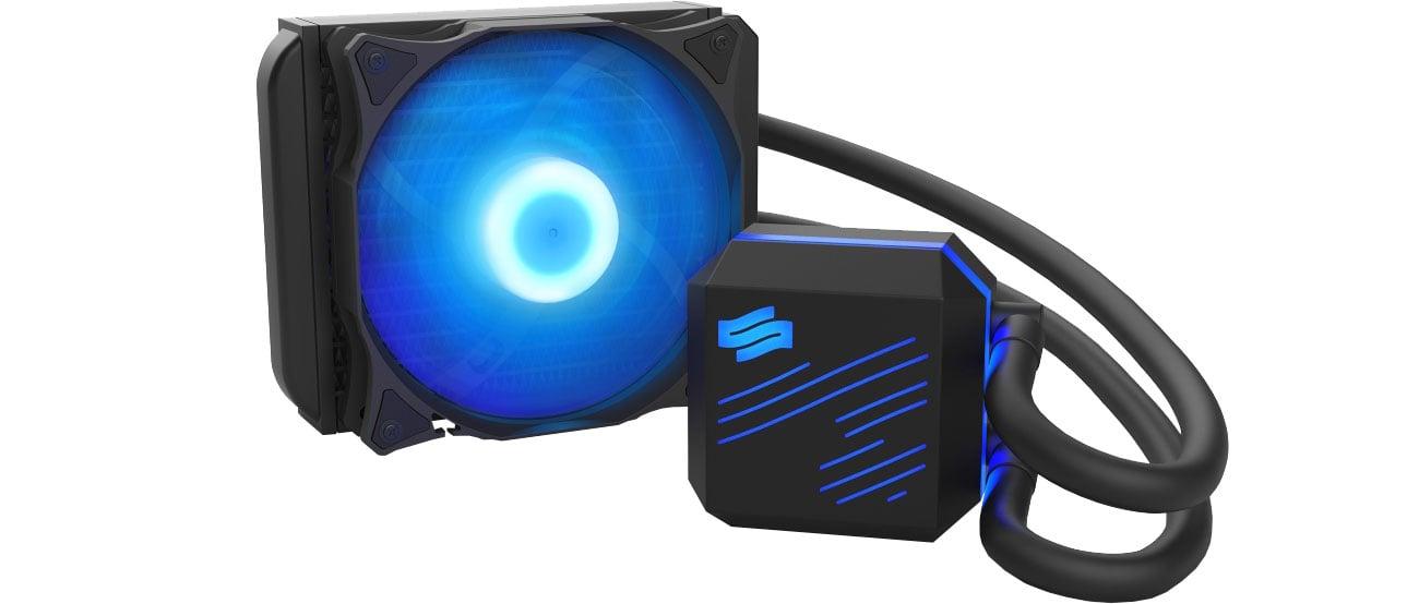 Chłodzenie komputerowe SilentiumPC Navis RGB 120 SPC218