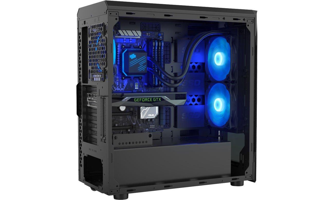 SilentiumPC Navis RGB 280 w obudowie