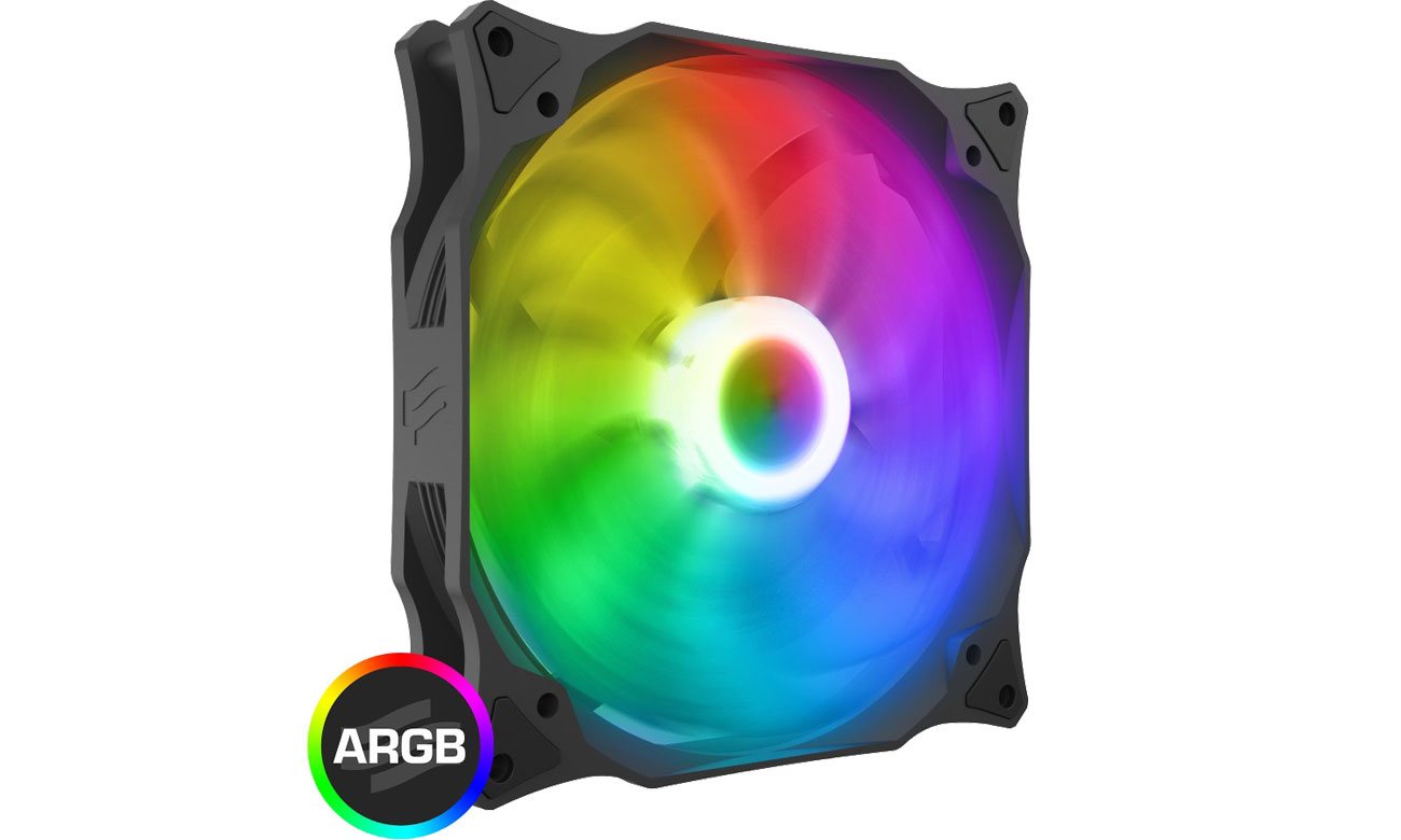 SilentiumPC Stella HP ARGB 140 PWM - Podświetlenie LED