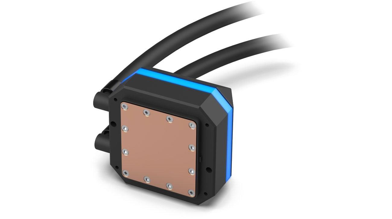 SilentiumPC Navis RGB 360 - Miedziany blok wodny