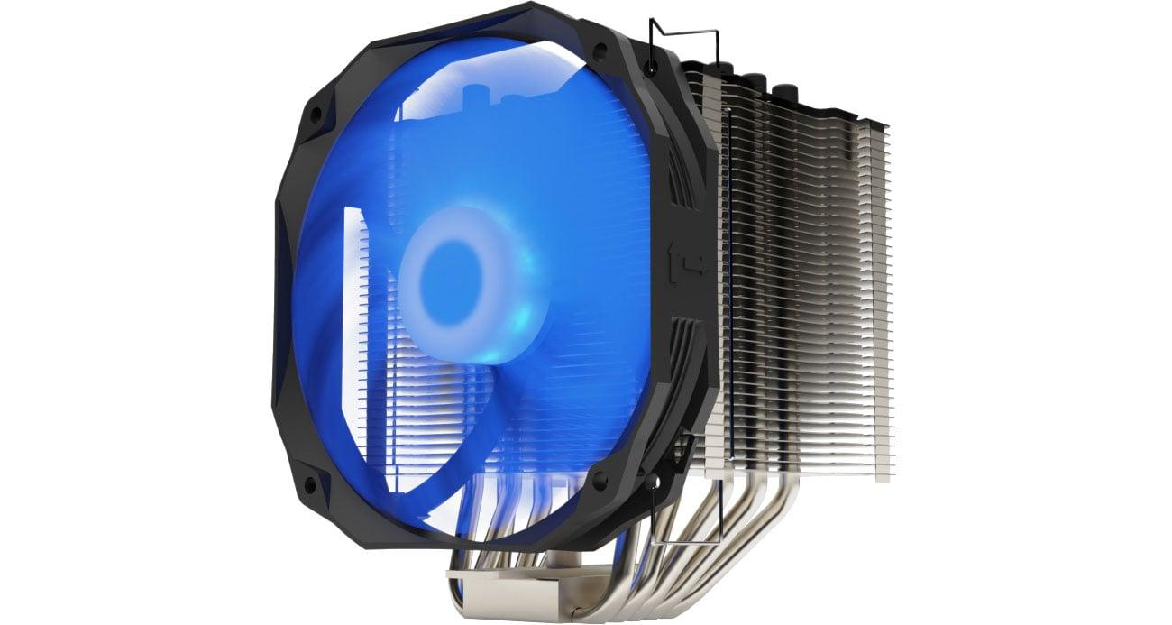 Chłodzenie procesora SilentiumPC Fortis 3 RGB 140mm SPC245