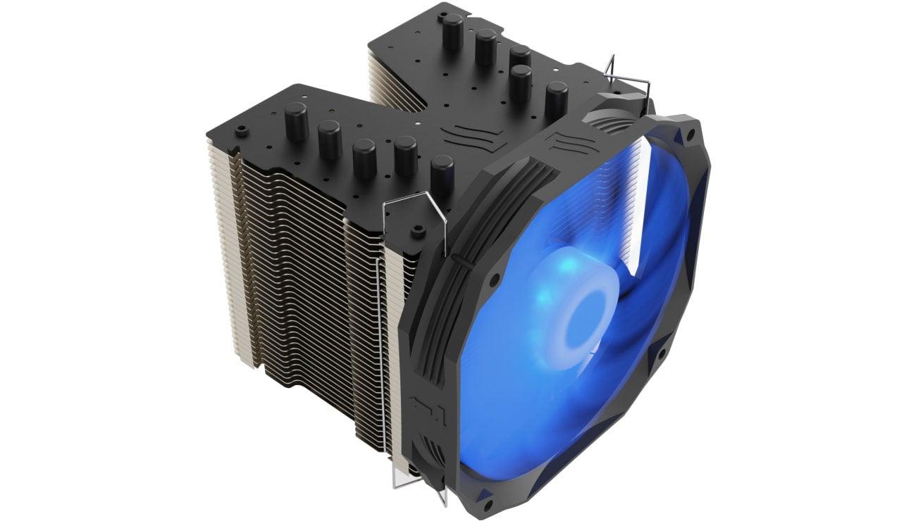 SilentiumPC Fortis 3 RGB HE1425 - Podświetlenie
