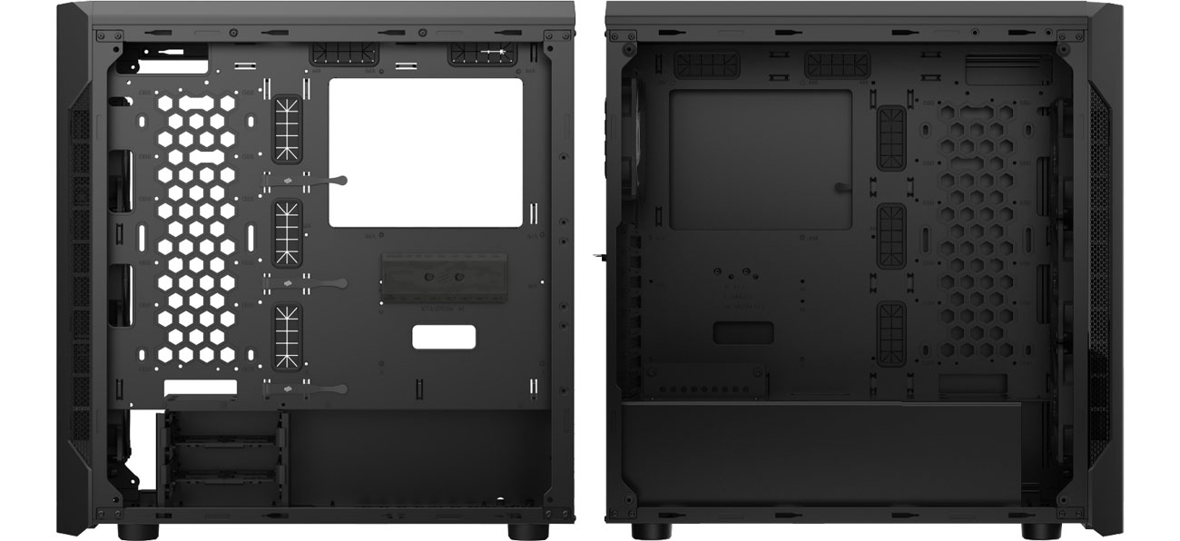 SilentiumPC Armis AR7X EVO TG ARGB - Wnętrze