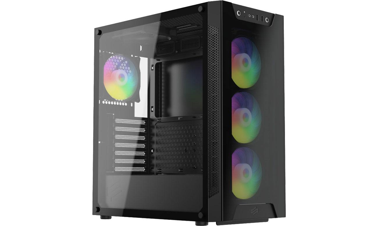 Obudowa do komputera SilentiumPC Armis AR6X EVO TG ARGB SPC257
