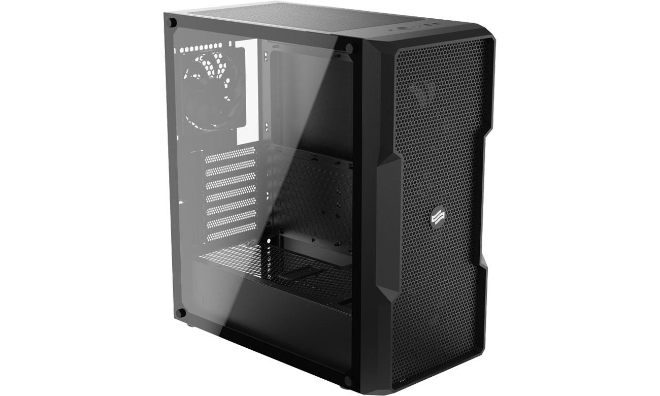 Obudowa do komputera SilentiumPC Regnum RG6V TG Pure Black SPC261