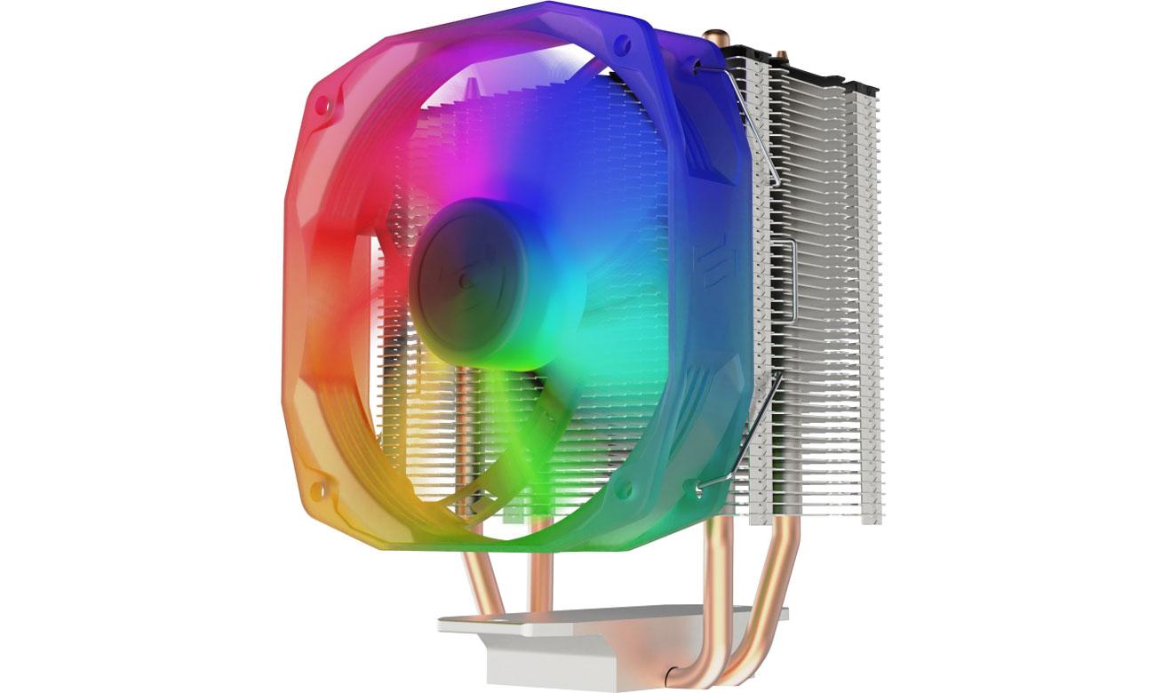 Chłodzenie procesora SilentiumPC Spartan 4 Evo ARGB 100mm SPC271