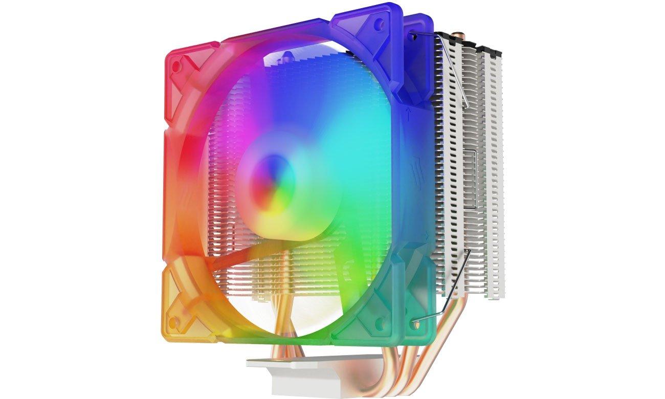 Chłodzenie procesora SilentiumPC Spartan 4 Max Evo ARGB 120mm SPC273