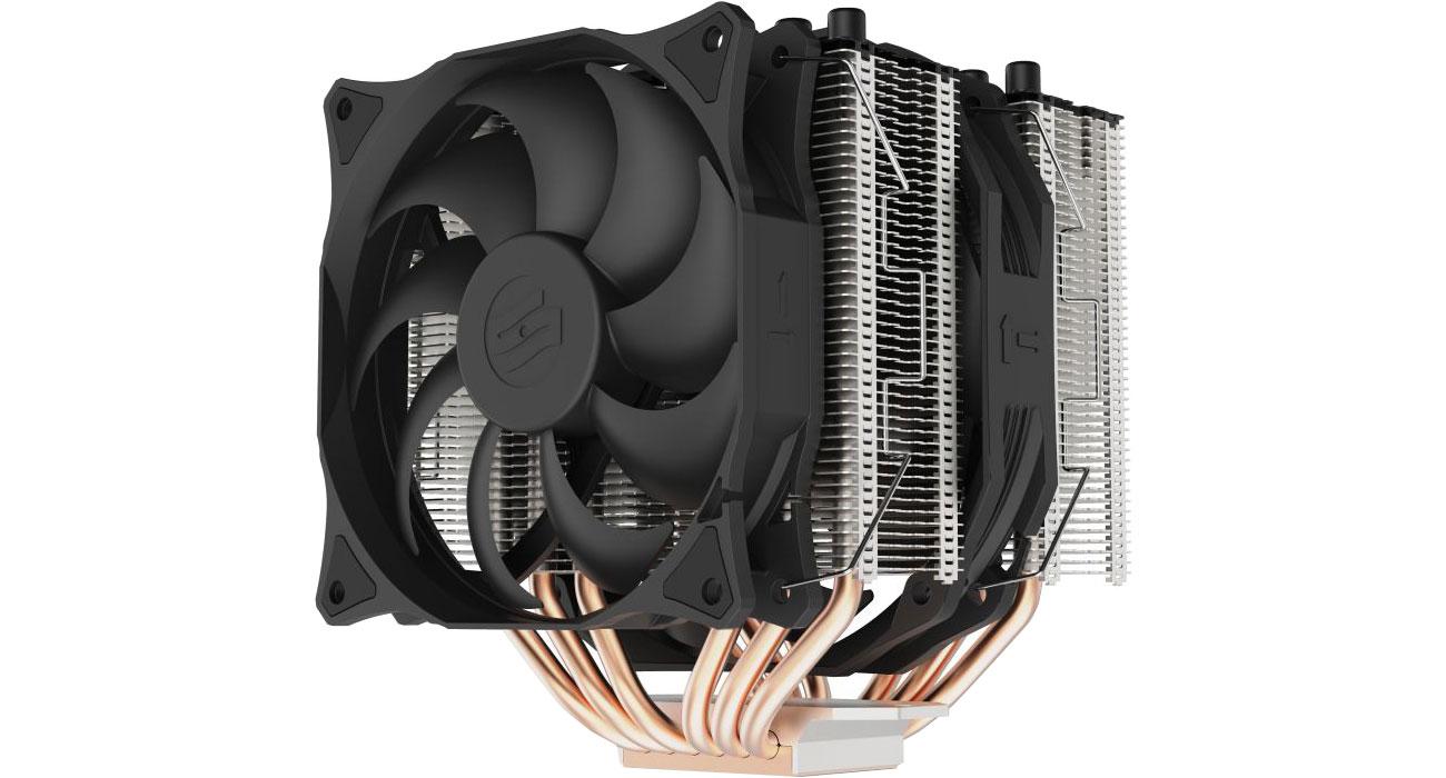 Chłodzenie procesora SilentiumPC Grandis 3 120/140mm SPC274