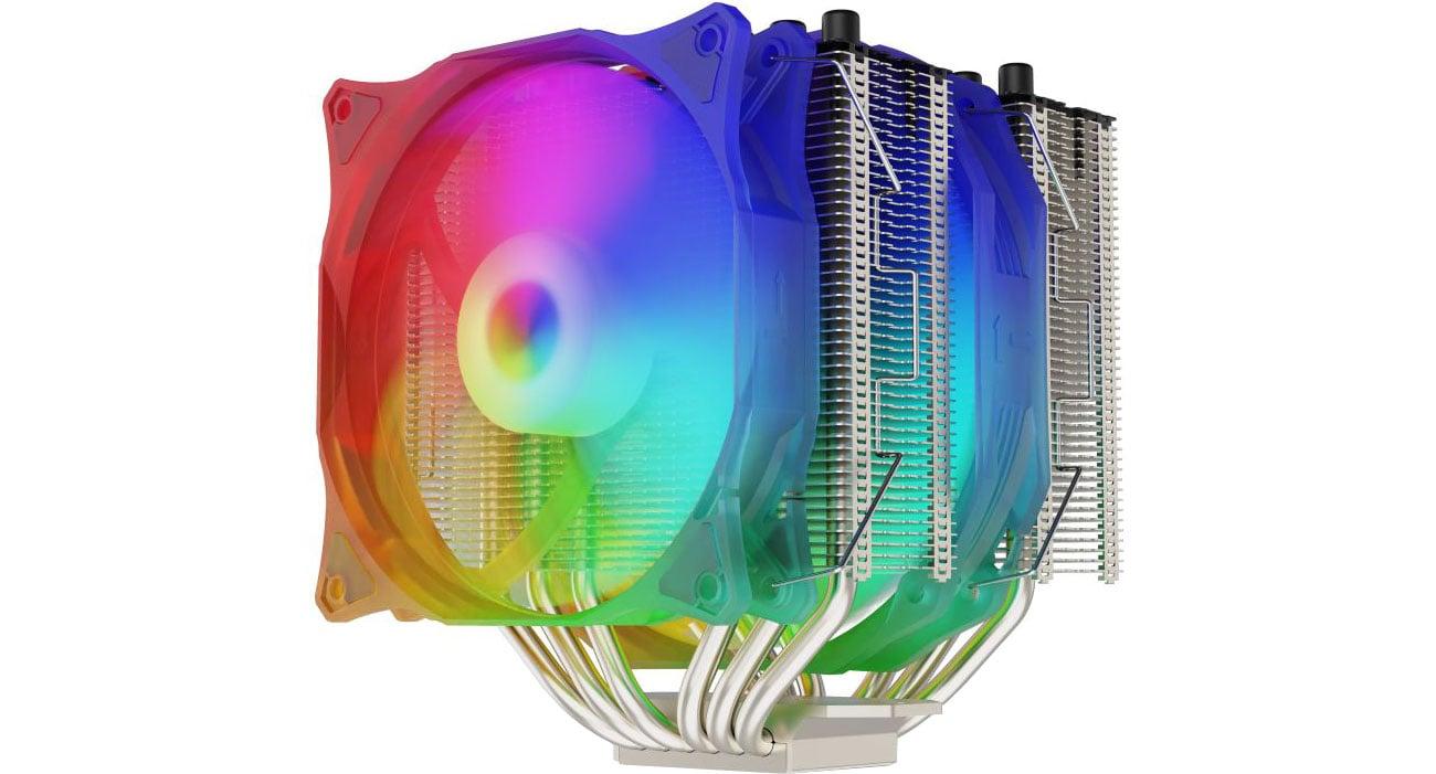 Chłodzenie procesora SilentiumPC Grandis 3 Evo ARGB 120/140mm SPC275