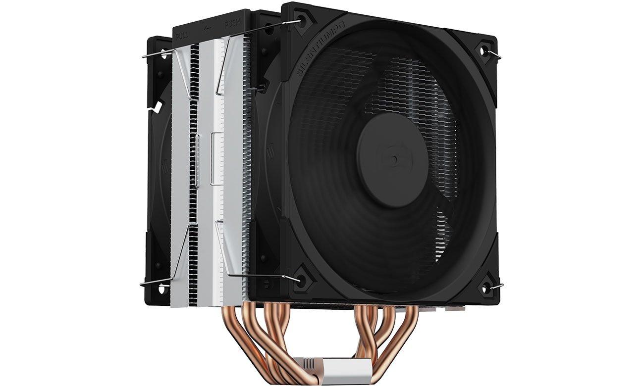 Chłodzenie procesora SilentiumPC Fera 5 Dual Fan 2x120mm SPC304