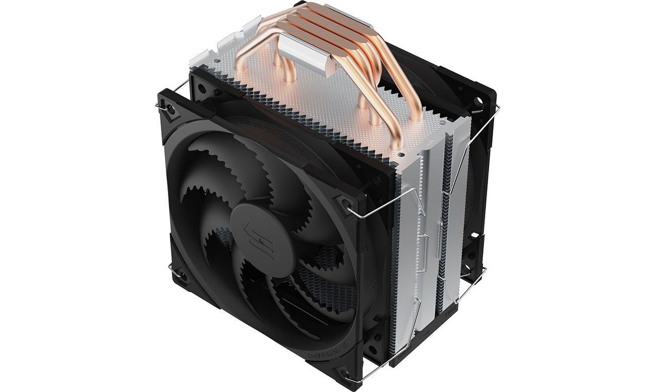 SilentiumPC Fera 5 Dual Fan 2x120mm - Radiator