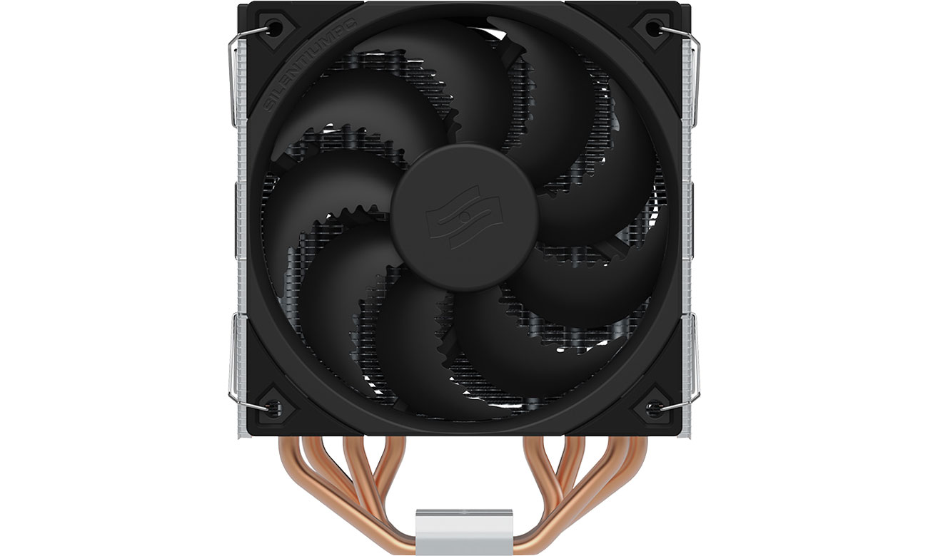 SilentiumPC Fera 5 Dual Fan 2x120mm - Wentylator Fluctus 120 PWM