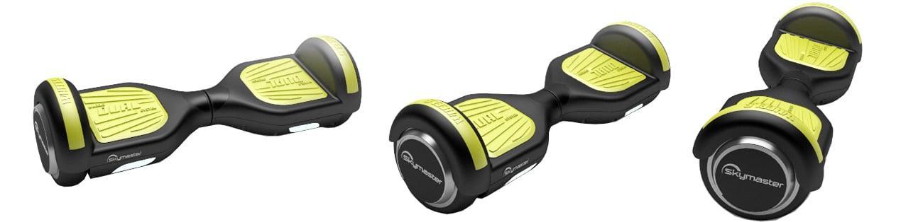 Deskorolka elektryczna SKYMASTER Wheels 6.5'' czarno-żółta