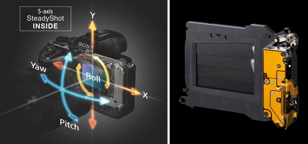 Sony Alpha a7II R System Stabilizacji