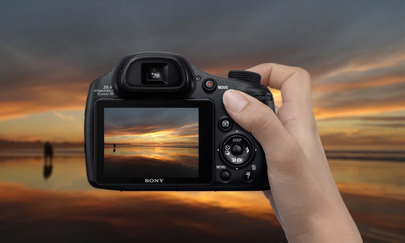 DSC-HX350B Nagrywanie Filmów