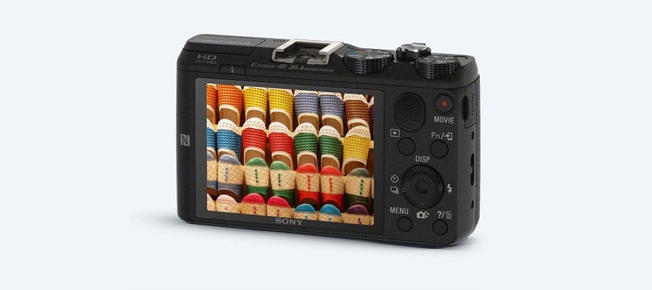 Sony DSC-HX60 Wyświetlacz LCD