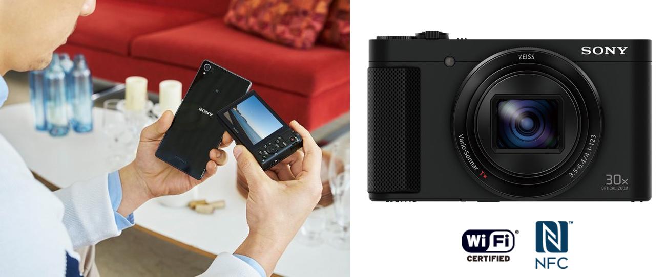 Sony HX90 WiFi NFC