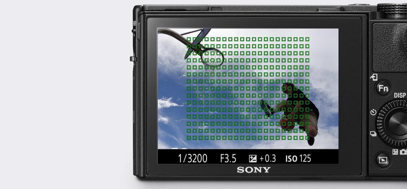 Sony DSC-RX100M5 Ostre Ujęcia