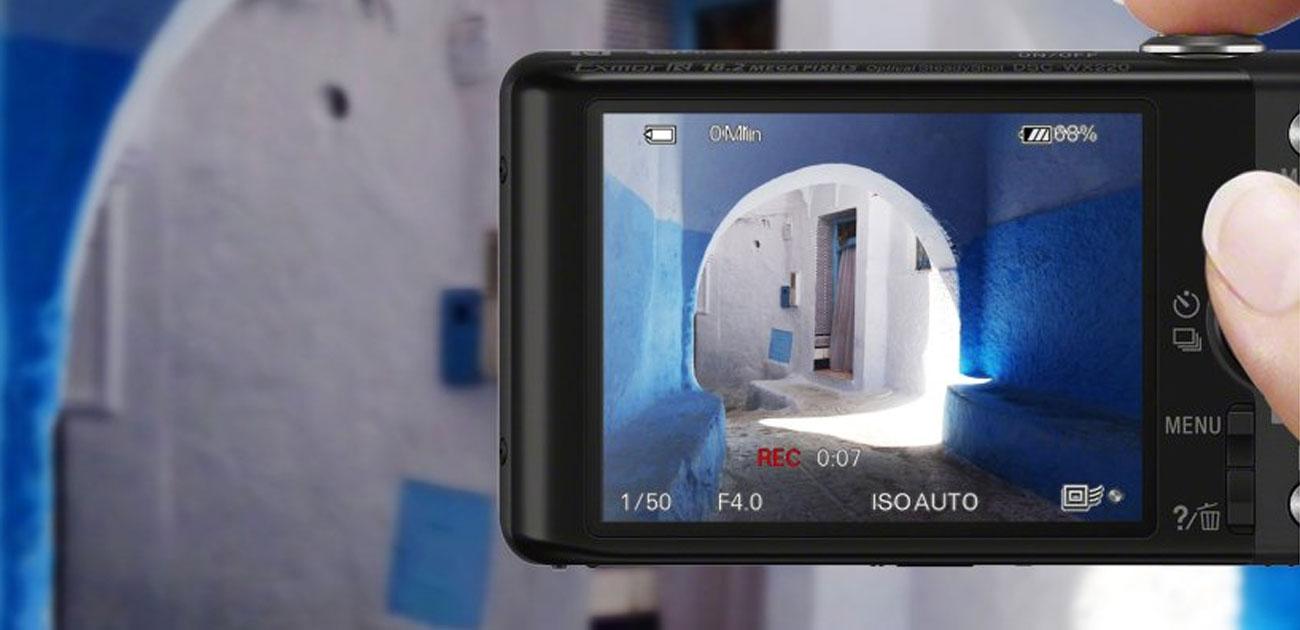 Sony DSC-WX220 Nagrywanie W Full HD