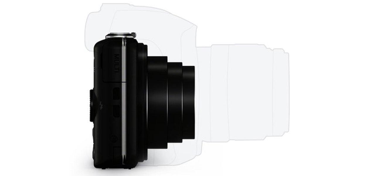 Sony DSC-WX220 Kompaktowy Rozmiar
