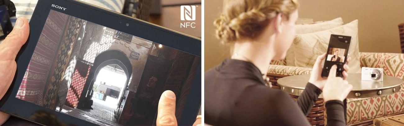 Sony DSC-WX350 Moduł Wi-Fi NFC