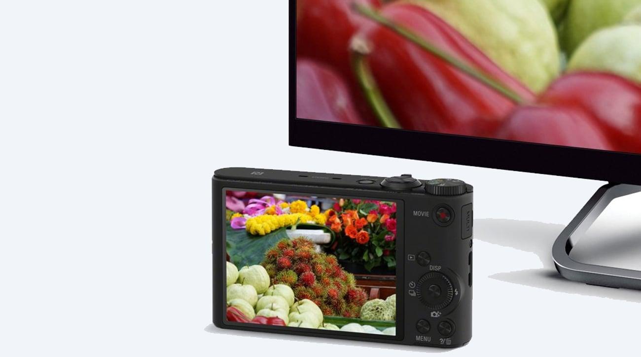 Sony DSC-WX350 4K