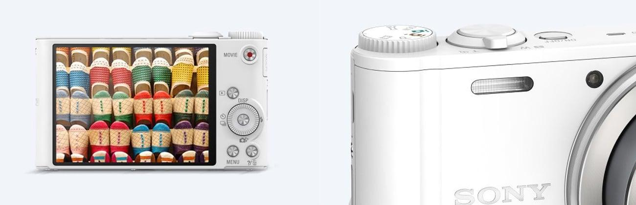 Sony DSC-WX350 Ekran Lampa Błyskowa