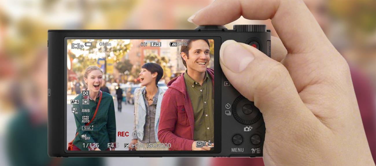 Sony DSC-WX350 Nagrania Full HD