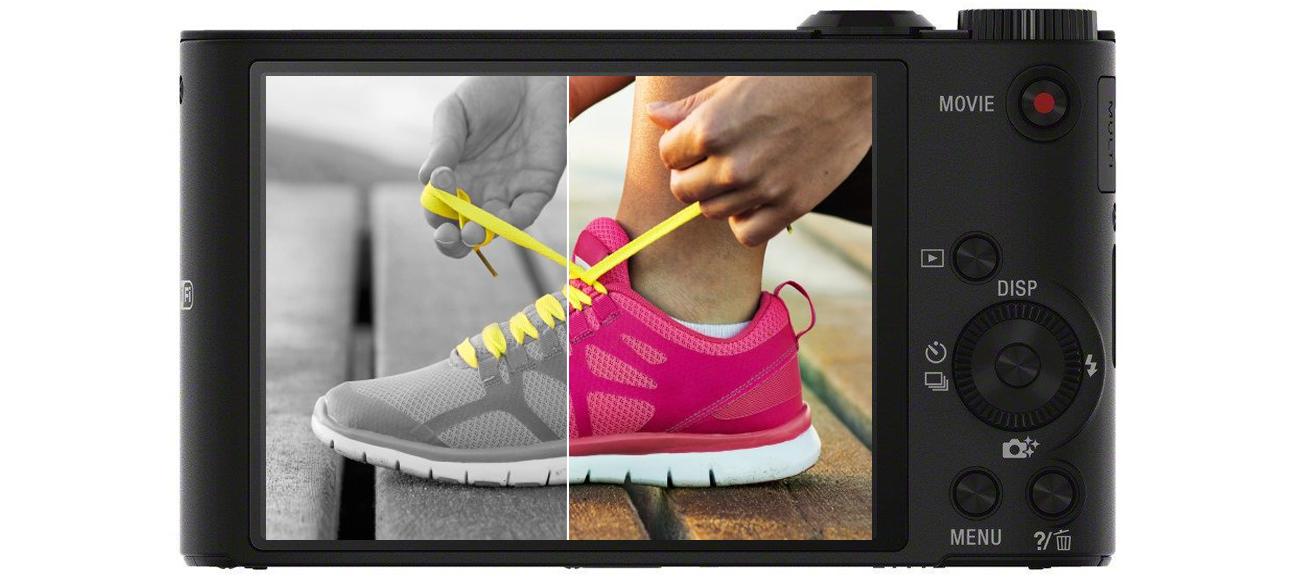 Sony DSC-WX350 Efekty